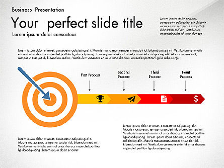 Newsmaking Presentation Template, Slide 4, 03093, Presentation Templates — PoweredTemplate.com