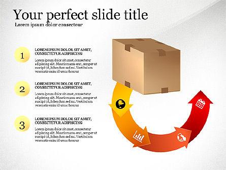 On Time Delivery Presentation Template, Slide 2, 03095, Presentation Templates — PoweredTemplate.com