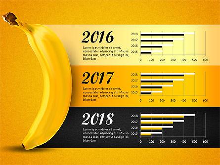 Banana Infographics Slide 3