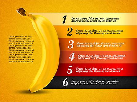 Banana Infographics Slide 4