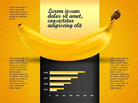 Banana Infographics, Slide 8, 03096, Infographics — PoweredTemplate.com