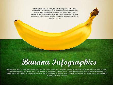 Banana Infographics, Slide 9, 03096, Infographics — PoweredTemplate.com