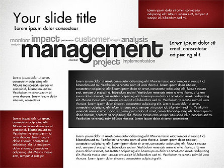 Performance Management Presentation Template, Slide 4, 03097, Presentation Templates — PoweredTemplate.com