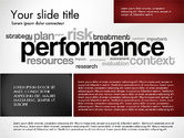 Presentation Templates: Performance Management Presentation Template #03097