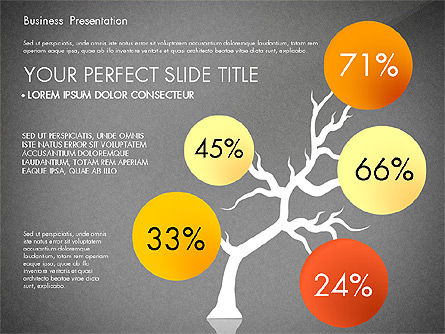 Yellow Themed Pitch Deck Presentation Template, Slide 10, 03100, Presentation Templates — PoweredTemplate.com