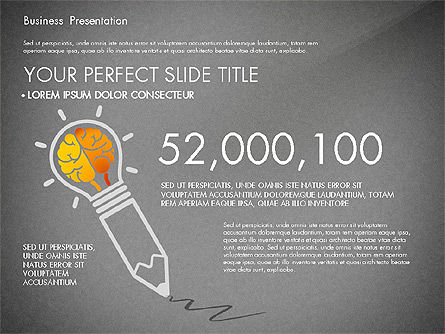 Yellow Themed Pitch Deck Presentation Template, Slide 11, 03100, Presentation Templates — PoweredTemplate.com