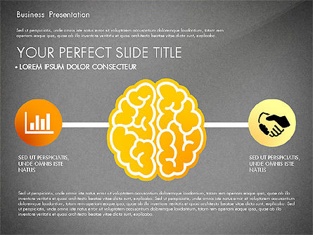 Yellow Themed Pitch Deck Presentation Template, Slide 14, 03100, Presentation Templates — PoweredTemplate.com