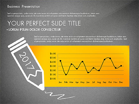Yellow Themed Pitch Deck Presentation Template, Slide 15, 03100, Presentation Templates — PoweredTemplate.com
