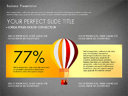 Yellow Themed Pitch Deck Presentation Template, Slide 16, 03100, Presentation Templates — PoweredTemplate.com