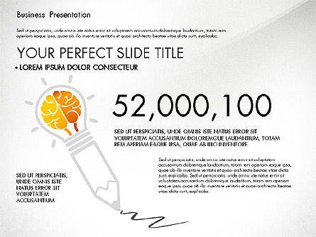 Yellow Themed Pitch Deck Presentation Template, Slide 3, 03100, Presentation Templates — PoweredTemplate.com