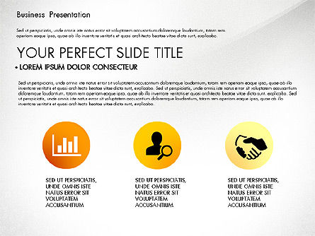 Yellow Themed Pitch Deck Presentation Template, Slide 4, 03100, Presentation Templates — PoweredTemplate.com