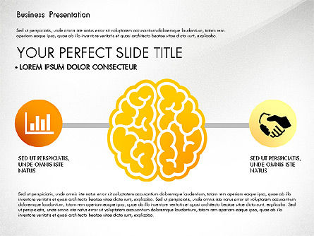 Yellow Themed Pitch Deck Presentation Template, Slide 6, 03100, Presentation Templates — PoweredTemplate.com