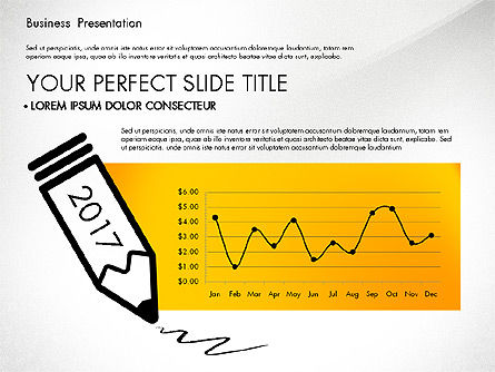 Yellow Themed Pitch Deck Presentation Template, Slide 7, 03100, Presentation Templates — PoweredTemplate.com