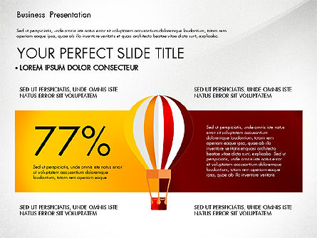 Yellow Themed Pitch Deck Presentation Template, Slide 8, 03100, Presentation Templates — PoweredTemplate.com
