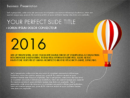 Yellow Themed Pitch Deck Presentation Template, Slide 9, 03100, Presentation Templates — PoweredTemplate.com