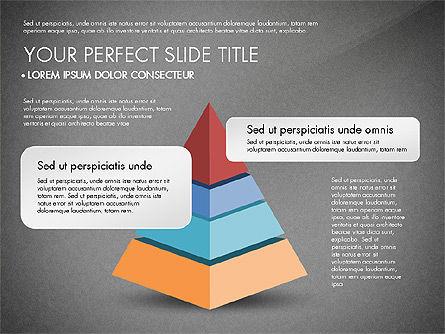 Pyramids and Blocks, Slide 15, 03101, Shapes — PoweredTemplate.com