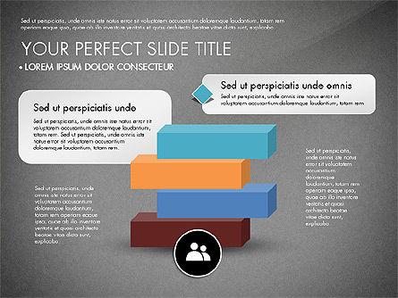 Pyramids and Blocks, Slide 16, 03101, Shapes — PoweredTemplate.com