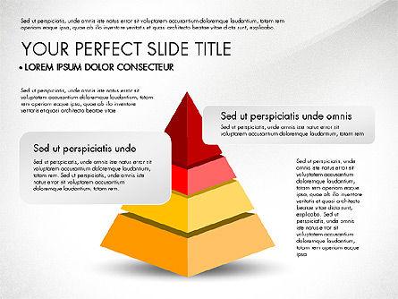 Pyramids and Blocks, Slide 7, 03101, Shapes — PoweredTemplate.com