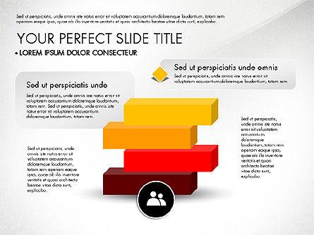Pyramids and Blocks, Slide 8, 03101, Shapes — PoweredTemplate.com
