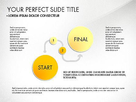 Step by Step Timeline Diagram, Slide 2, 03102, Timelines & Calendars — PoweredTemplate.com