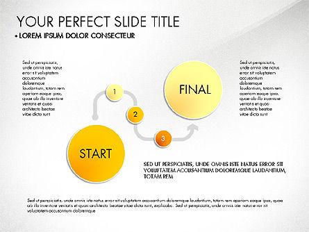 Step by Step Timeline Diagram, Slide 3, 03102, Timelines & Calendars — PoweredTemplate.com