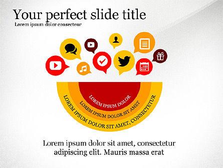 Social People Presentation Concept, Slide 2, 03103, Presentation Templates — PoweredTemplate.com