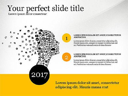 Social People Presentation Concept, Slide 3, 03103, Presentation Templates — PoweredTemplate.com