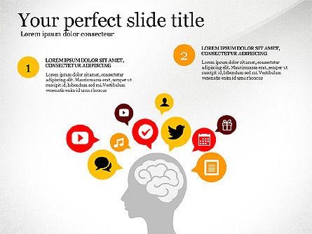 Social People Presentation Concept, Slide 4, 03103, Presentation Templates — PoweredTemplate.com