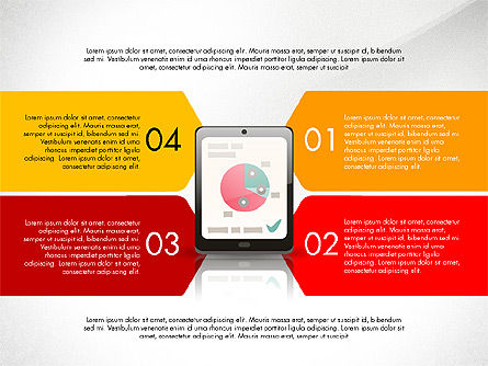 Clerical Work Presentation Template, Slide 4, 03104, Presentation Templates — PoweredTemplate.com