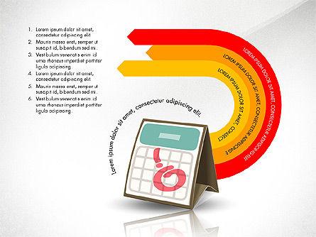 Clerical Work Presentation Template, Slide 8, 03104, Presentation Templates — PoweredTemplate.com