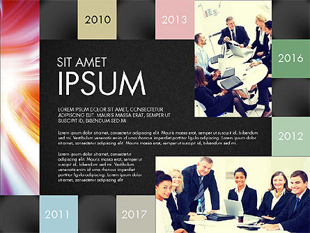 Consulting Team Presentation Concept, Slide 10, 03105, Presentation Templates — PoweredTemplate.com