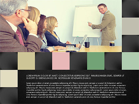 Consulting Team Presentation Concept, Slide 14, 03105, Presentation Templates — PoweredTemplate.com