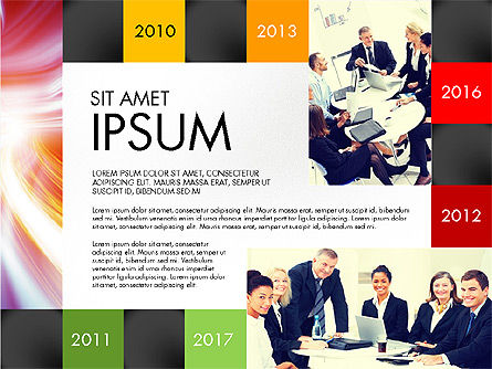 Consulting Team Presentation Concept, Slide 2, 03105, Presentation Templates — PoweredTemplate.com