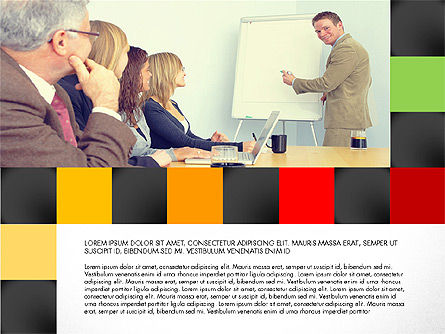 Consulting Team Presentation Concept, Slide 6, 03105, Presentation Templates — PoweredTemplate.com