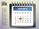 Timelines & Calendars: Calendrier 2016 #03107
