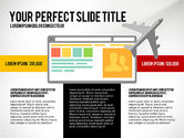 Presentation Templates: Plate-forme de pitch de voyage #03108
