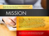 Presentation Templates: Company Profile Presentation Concept #03110