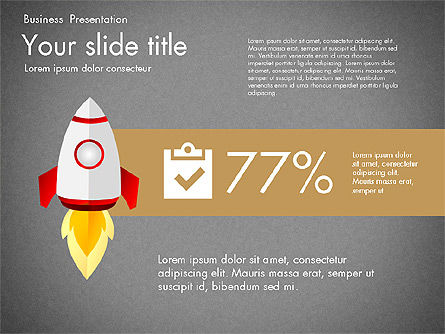 Project Launch Presentation Deck, Slide 13, 03112, Presentation Templates — PoweredTemplate.com