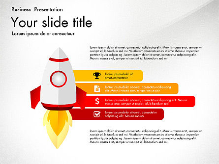 Project Launch Presentation Deck, Slide 6, 03112, Presentation Templates — PoweredTemplate.com
