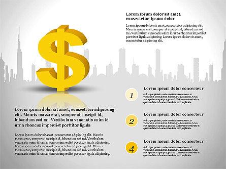 Financial Report Presentation Template, Slide 12, 03113, Presentation Templates — PoweredTemplate.com