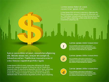 Financial Report Presentation Template, Slide 4, 03113, Presentation Templates — PoweredTemplate.com