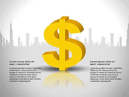 Financial Report Presentation Template, Slide 9, 03113, Presentation Templates — PoweredTemplate.com
