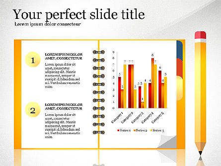 Presentation Templates: Quick Product Report Presentation Deck #03116