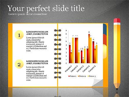 Quick Product Report Presentation Deck, Slide 9, 03116, Presentation Templates — PoweredTemplate.com