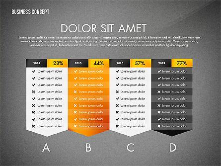 Split Testing Diagram Template, Slide 10, 03117, Business Models — PoweredTemplate.com