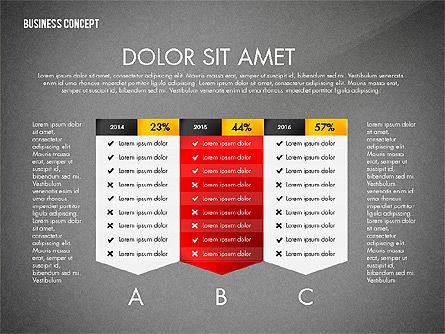 Split Testing Diagram Template, Slide 12, 03117, Business Models — PoweredTemplate.com