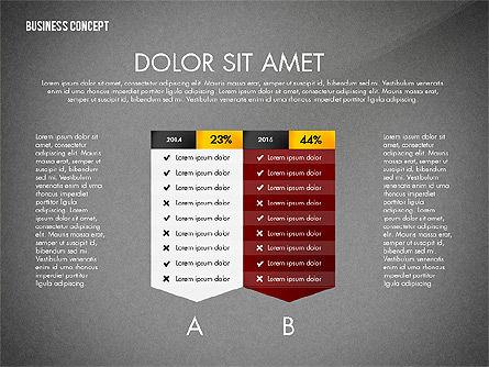 Split Testing Diagram Template, Slide 14, 03117, Business Models — PoweredTemplate.com