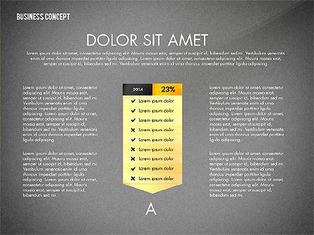 Split Testing Diagram Template, Slide 16, 03117, Business Models — PoweredTemplate.com