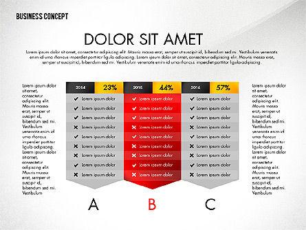 Split Testing Diagram Template, Slide 4, 03117, Business Models — PoweredTemplate.com