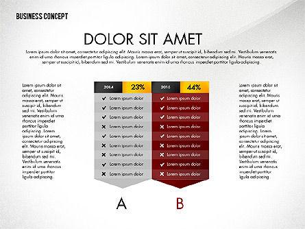 Split Testing Diagram Template, Slide 6, 03117, Business Models — PoweredTemplate.com